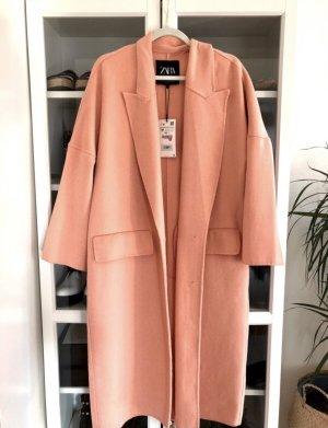 Zara Oversize Wollmantel Mantel