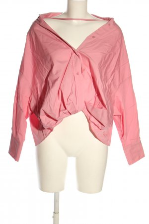 Zara Oversized Blouse pink casual look