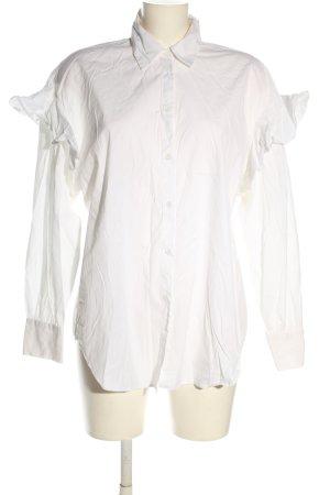 Zara Oversized Blouse white casual look