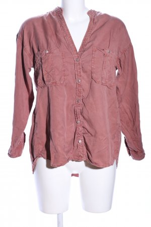 Zara Oversized Bluse pink Casual-Look