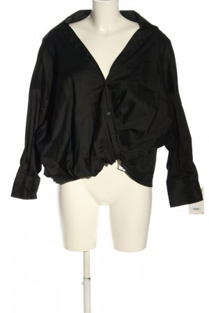Zara Oversized Blouse black business style