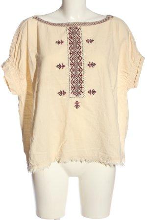 Zara Oversized Bluse mehrfarbig Casual-Look