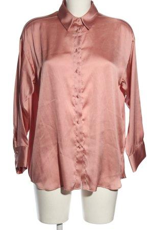 Zara Oversized Bluse pink Business-Look