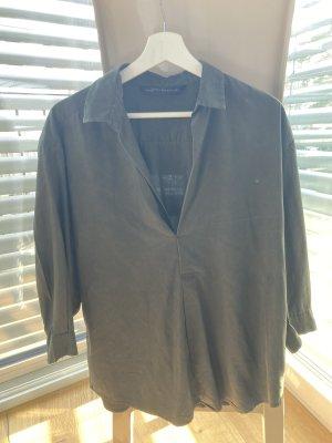 Zara Oversized Blouse khaki