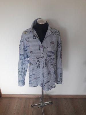zara oversized bluse gr. xs