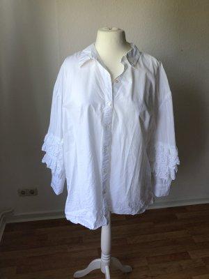 Zara oversized Bluse mit Ärmeldetail