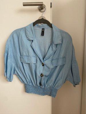 Zara Oversized Blouse azure