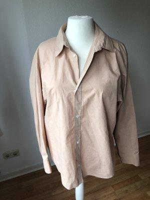 Zara oversized Hemd Nude Rose