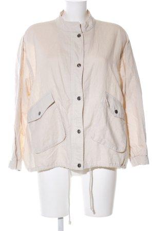 Zara Oversized Jacke wollweiß Casual-Look