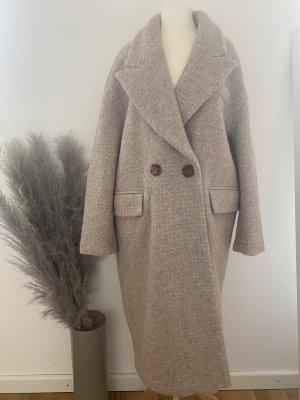 Zara Manteau oversized beige clair