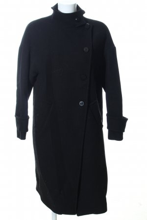 Zara Oversized Mantel schwarz Business-Look