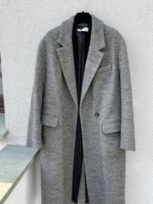 Zara Oversized Mantel grau S 36,38,40