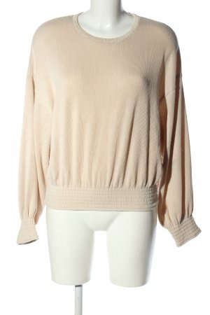 Zara Oversized Pullover creme Casual-Look