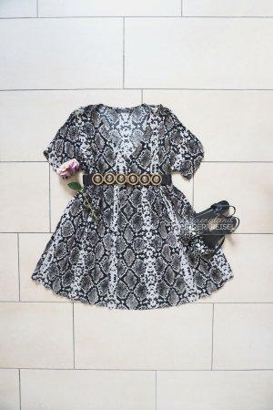 Zara oversized Schlangenmuster Kleid / Tunika (M/L)