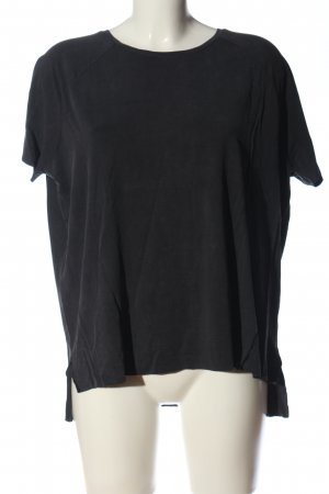 Zara Oversized Shirt schwarz Casual-Look