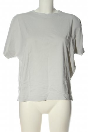 Zara Oversized Shirt light grey casual look