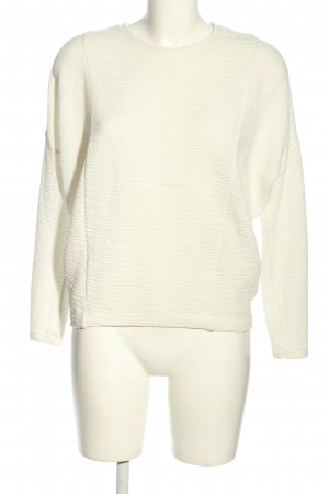 Zara Camisa holgada crema look casual