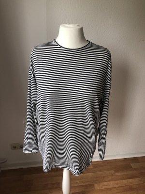 Zara oversized Shirt gestreift