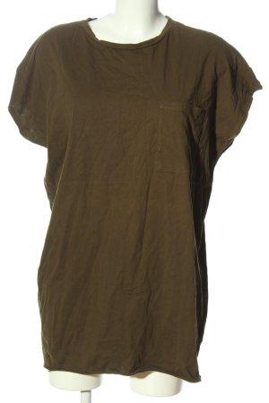 Zara Camicia oversize cachi stile casual