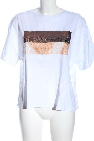 Zara Oversized Shirt mehrfarbig Casual-Look
