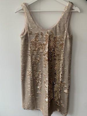 ZARA Pailletten Kleid