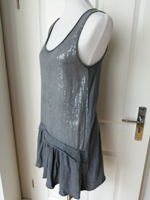 Zara Cargo Dress grey cotton