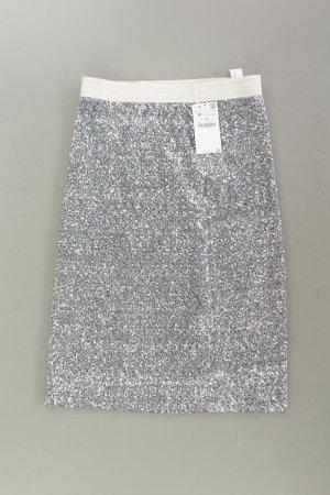 Zara Jupe stretch argenté polyester