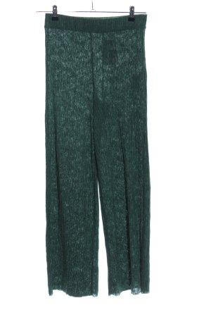 Zara Pallazzohose grün Casual-Look