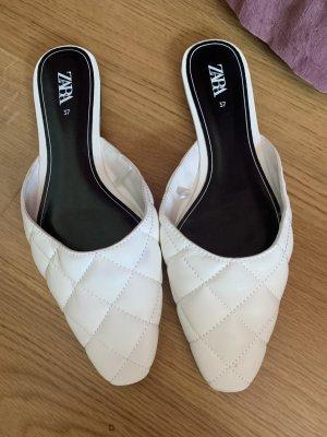 Zara Sabot blanc