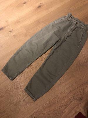 Zara Paperbag Jeans Baggy