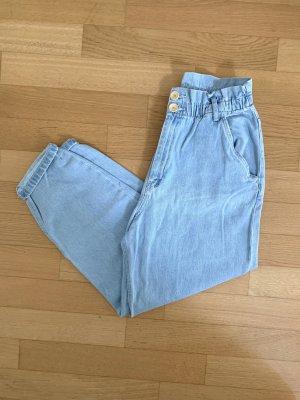 Zara Baggy Jeans light blue-blue
