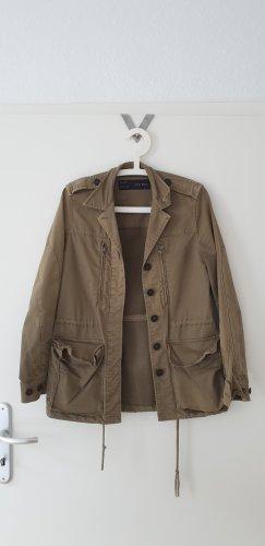 Zara Parka Jacke khaki 36 S