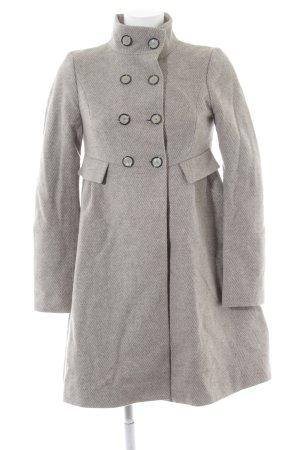 Zara Caban grigio chiaro stile casual