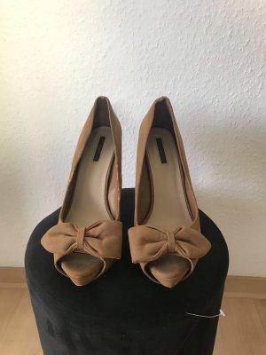 Zara Peep Toe Heels 41