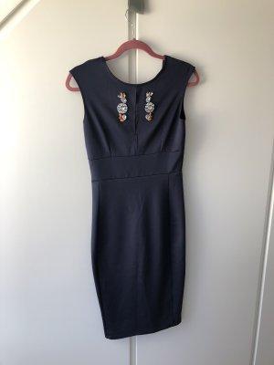 Zara pencil dress with stones 36/38