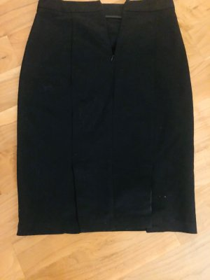 Zara Pencil skirt, schwarz, Grösse M/38, mit zwei Schlitzen hinten