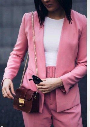 Zara pinker Blazer + Hosen- Anzug