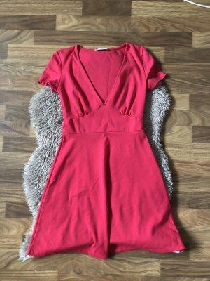 Zara Pinkes Sommerkleid S
