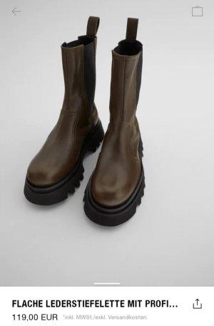 Zara plateau boots