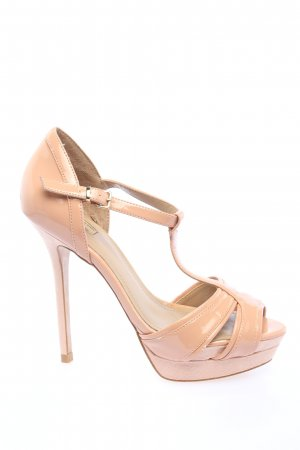 Zara Plateau-Pumps creme Casual-Look