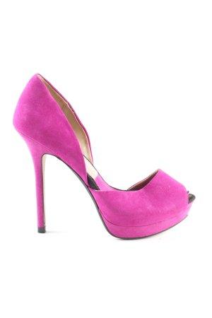 Zara Plateau-Pumps pink Elegant