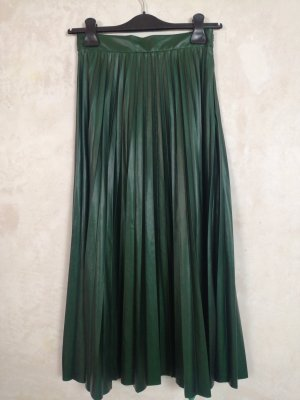 Zara pleated long skirt XS