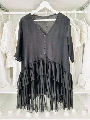 Zara plissee Bluse