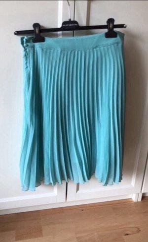 Zara Gonna pieghettata turchese-azzurro