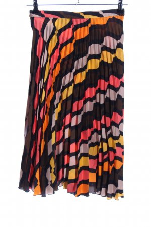 Zara Falda plisada multicolor elegante