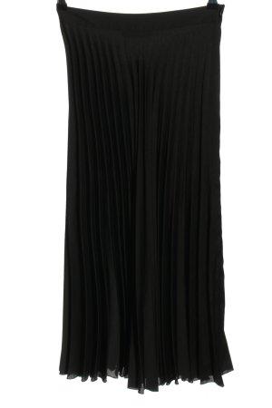 Zara Jupe plissée noir style décontracté