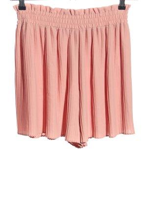 Zara Plisseerock pink Casual-Look