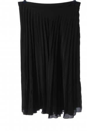 Zara Pleated Skirt black casual look