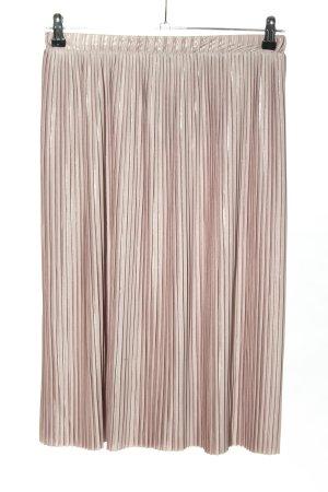 Zara Plisseerock pink Party-Look