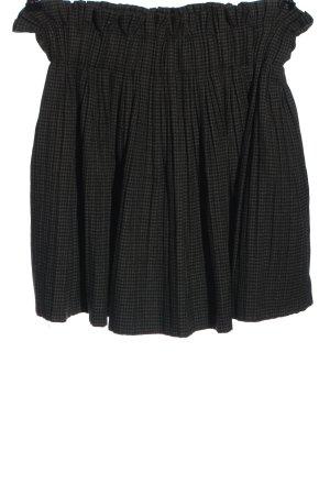 Zara Pleated Skirt light grey-black casual look